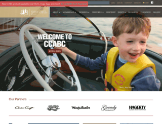 chris-craft.org screenshot
