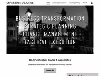 chris-saylor.org screenshot