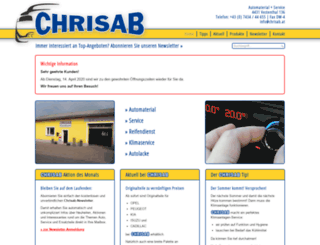 chrisab.at screenshot