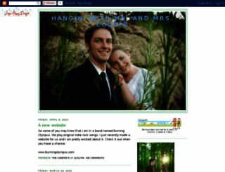chrisandalexcooper.blogspot.com screenshot