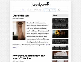 chrisandmartha.nearlyweds.com screenshot