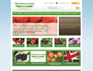 chrisbowers.co.uk screenshot