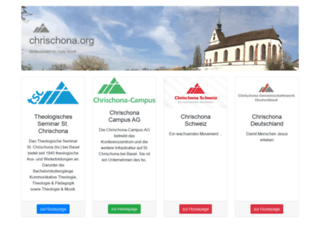 chrischona.org screenshot