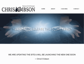 chrisegibson.com screenshot
