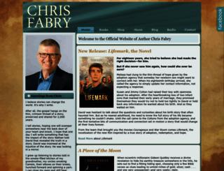 chrisfabry.com screenshot