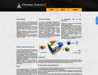 chrisgabrielc.com screenshot