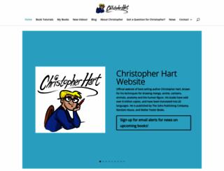 chrishartbooks.com screenshot