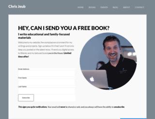 chrisjeub.com screenshot