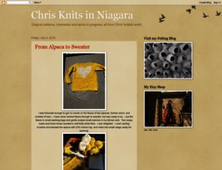 chrisknitsinniagara.blogspot.ca screenshot