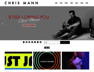 chrismannmusic.com screenshot