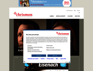 chrismon.evangelisch.de screenshot