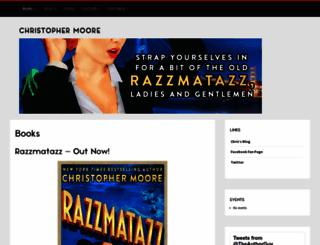chrismoore.com screenshot
