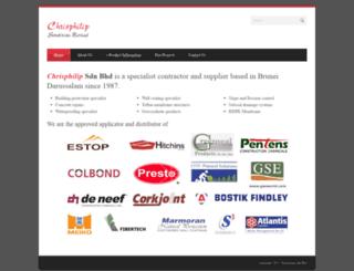 chrisphilip.com screenshot
