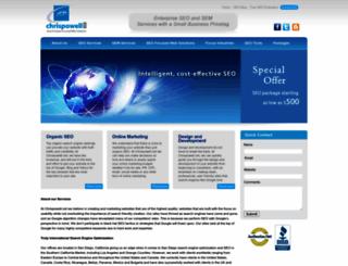 chrispowell.net screenshot