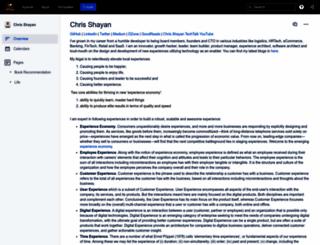 chrisshayan.com screenshot