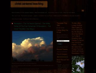 christcenteredteaching.wordpress.com screenshot