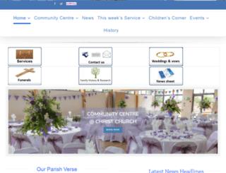 christchurchswindon.co.uk screenshot