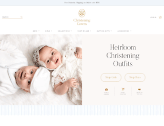 christeninggowns.com screenshot