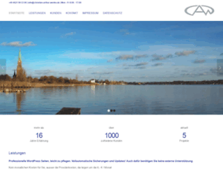 christian-arthur-wenke.de screenshot