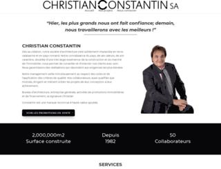 christian-constantin.ch screenshot
