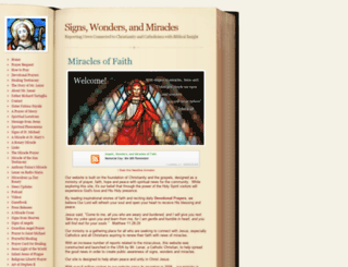 christian-miracles.com screenshot