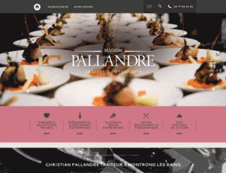 christian-pallandre-traiteur.fr screenshot