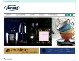 christiana.com.au screenshot
