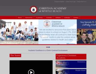 christianacademyonline.org screenshot