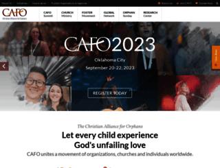 christianalliancefororphans.org screenshot