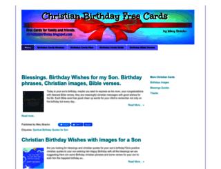 christianbirthday.blogspot.com screenshot