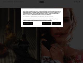 christiandior.com screenshot