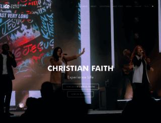 christianfaithcenter.org screenshot