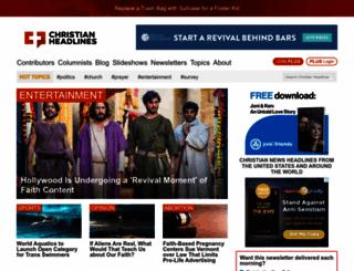 christianheadlines.com screenshot