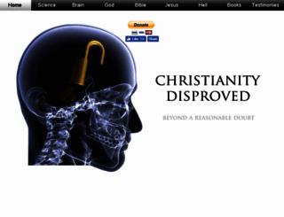 christianitydisproved.com screenshot