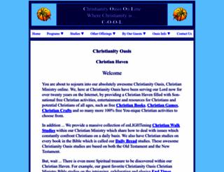 christianityoasis.com screenshot