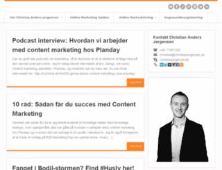 christianjorgensen.dk screenshot