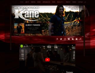 christiankane.com screenshot