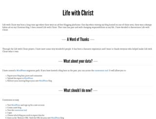 christianmusic.lifewithchrist.org screenshot