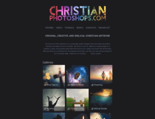 christianphotoshops.com screenshot