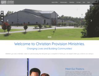 christianprovision.com screenshot