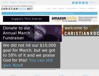 christianrock2.net screenshot