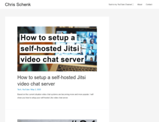 christianschenk.org screenshot