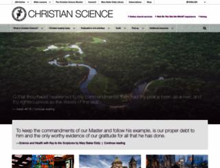 christianscience.com screenshot