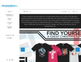 christianshirts.net screenshot