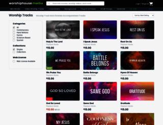 christiansongtracks.com screenshot