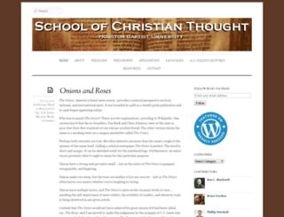 christianthought.hbu.edu screenshot