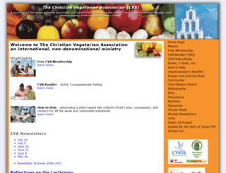 christianveg.org screenshot