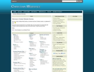 christianwebsites.org.uk screenshot