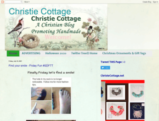 christiecottage.blogspot.com screenshot