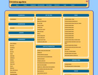christina-aguilera.allepaginas.nl screenshot